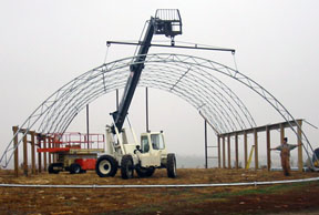 Hoop Structures For Beef Leopold Center For Sustainable
