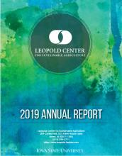 2019 Leopold Center Annual Report cover