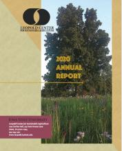cover of Leopold Center 2020 annual report