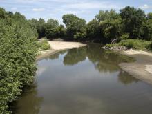 South Skunk River in Ames, Iowa